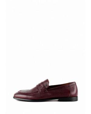 Кожаные красные туфли Leberdes