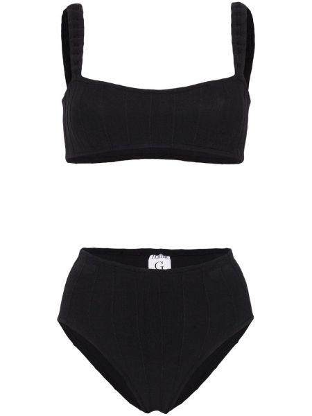Нейлоновые черные бикини квадратные Hunza G