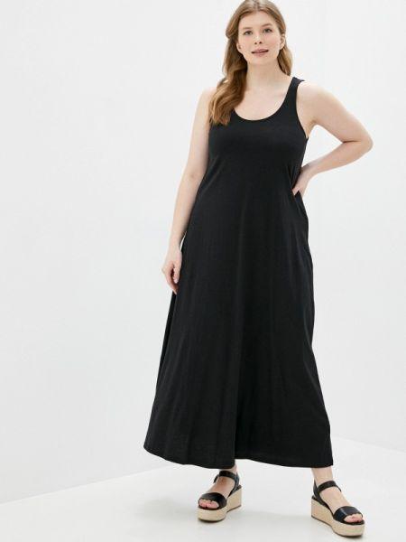 Платье черное платье-майка Zizzi