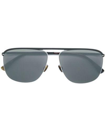 Солнцезащитные очки для зрения черные Mykita