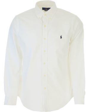 Koszula wełniany z logo Ralph Lauren