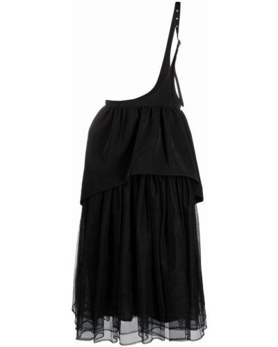 Юбка миди из фатина - черная Comme Des Garçons Noir Kei Ninomiya
