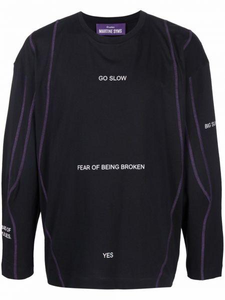 Czarna t-shirt z printem Etudes
