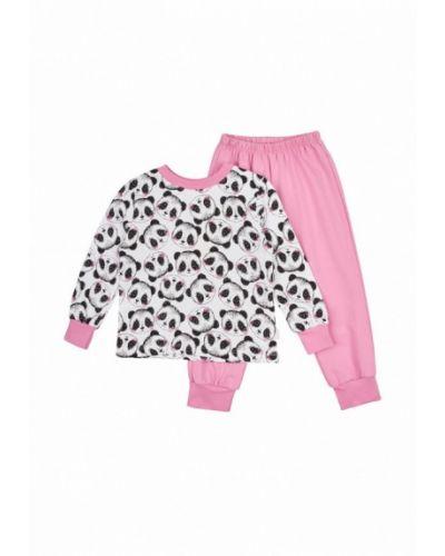 Пижама белая розовый Бемби