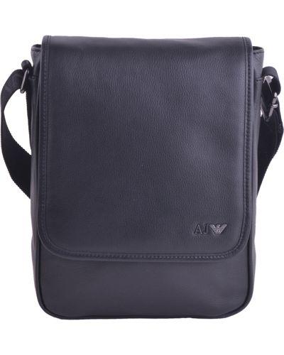 Кожаная сумка текстильная Armani Jeans