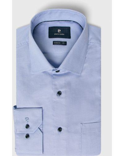 Рубашка с длинным рукавом тонкая однотонный Pierre Cardin