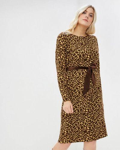 Платье - коричневое Sonett
