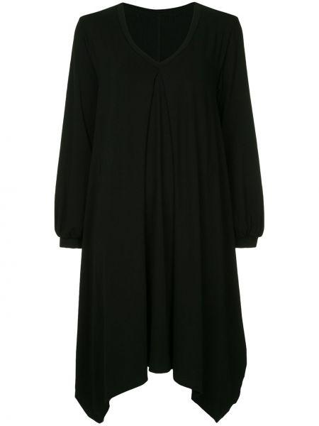 Платье макси длинное - черное Taylor