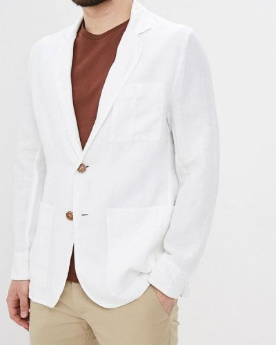 Пиджак белый Elijah & Sims