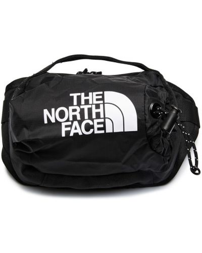 Черная сумка с карманами The North Face