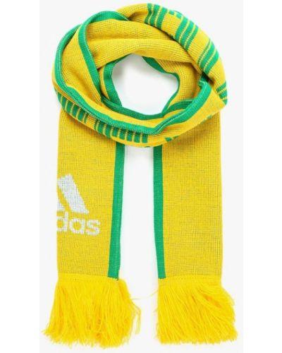 Желтый шарф Adidas