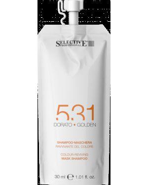 Шампунь для волос очищающий питательный Selective Professional