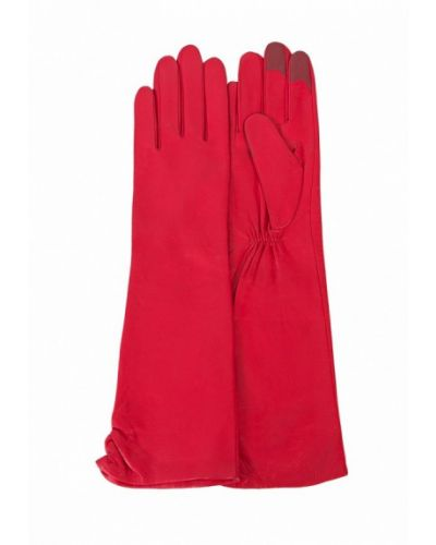 Красные перчатки длинные Michel Katana