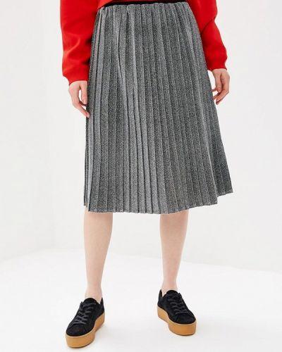 Плиссированная юбка серебряный Jennyfer