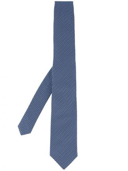 Krawat z wzorem Gieves & Hawkes