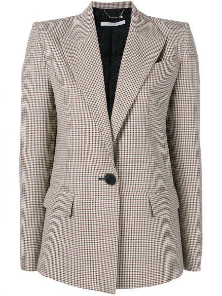 Długa kurtka z kieszeniami krótki Givenchy
