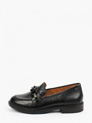 Черные зимние туфли Caprice