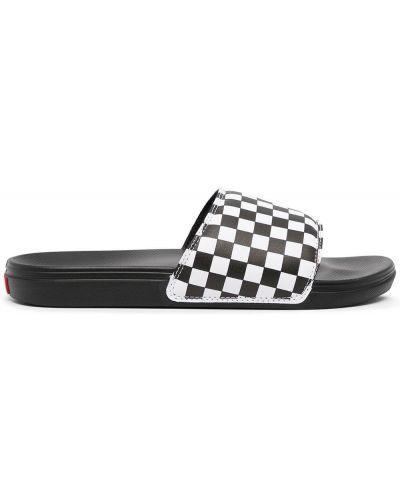 Sandały peep toe - białe Vans