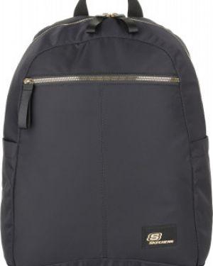 Рюкзак спортивный черный для отдыха Skechers