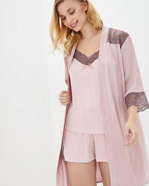 Розовая ажурная пижама Mianagreen