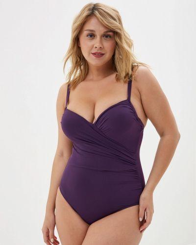 Слитный купальник - фиолетовый Faba