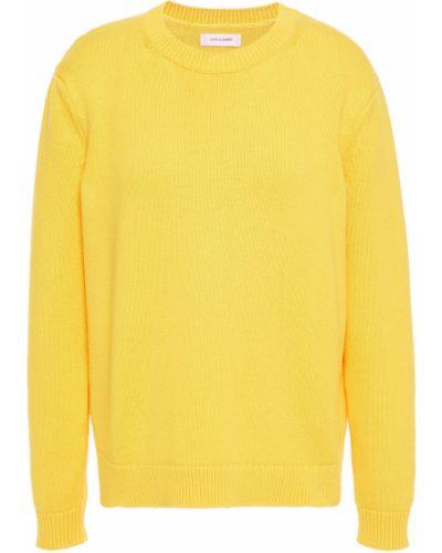 Желтый кашемировый вязаный свитер Chinti And Parker