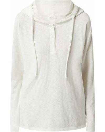 Bluza z kapturem - biała Marc O'polo Denim