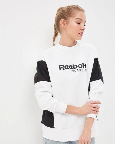 Толстовка белая Reebok Classics