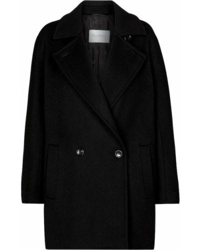 Черная куртка из верблюжьей шерсти Max Mara