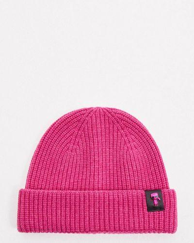 Шапка - розовая Karl Lagerfeld
