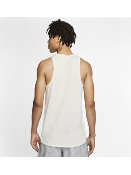 Koszula bez rękawów beżowy Nike