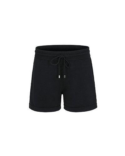 Хлопковые шорты - черные Juvia