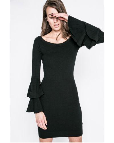 Платье мини с длинными рукавами с оборками Haily's
