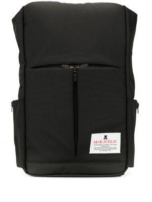 Черная сумка на плечо круглая Makavelic