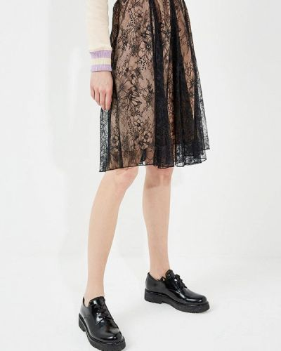 Черная юбка Twin-set Simona Barbieri