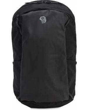 Czarny plecak klamry z nylonu Mountain Hardwear