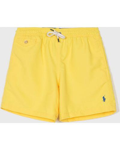 Плавки желтый с карманами Polo Ralph Lauren