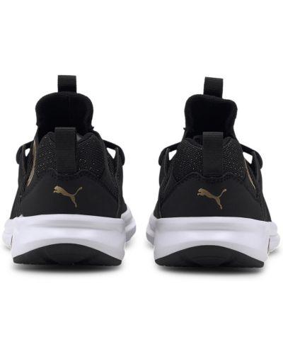 Черные кроссовки сетчатые Puma