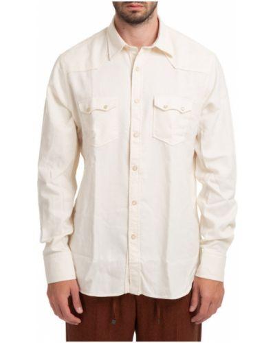 Biała koszula Lardini