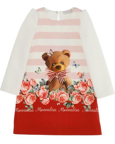 Czerwona sukienka Monnalisa