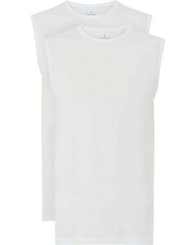 Bawełna biały bawełna body z dekoltem Ragman