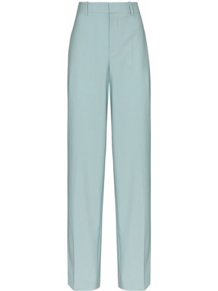 Niebieski bawełna spodni spodnie na wielką skalę Givenchy