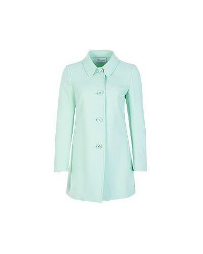 Зеленое пальто весеннее Valentino Red