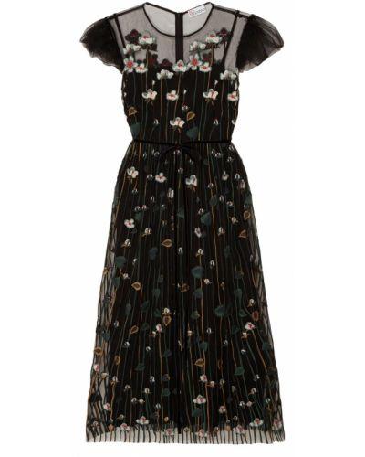 Платье мини миди с декольте Red Valentino