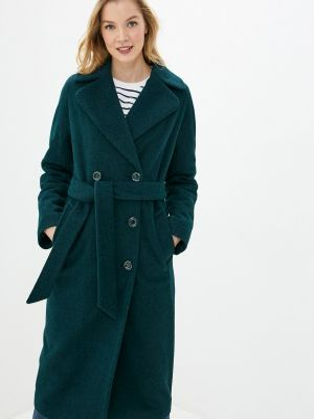 Пальто зеленое пальто Vamponi