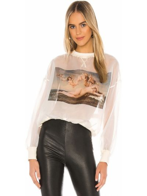 Beżowy sweter Selkie