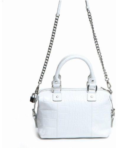 Biała torebka Nunoo