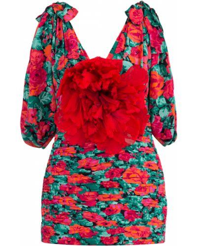 Блузка с бантом приталенная Gucci