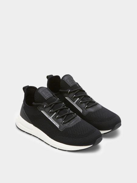 Кроссовки на шнуровке - черные Marc O'polo