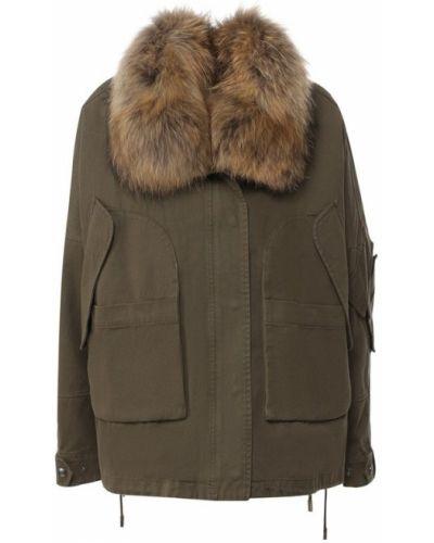 Куртка милитари с подстежкой Army Yves Salomon